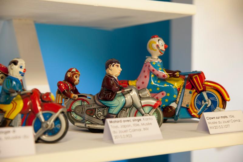 Des figurines au musée du jouet de Colmar