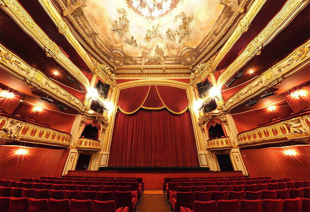 La salle du théâtre de Colmar
