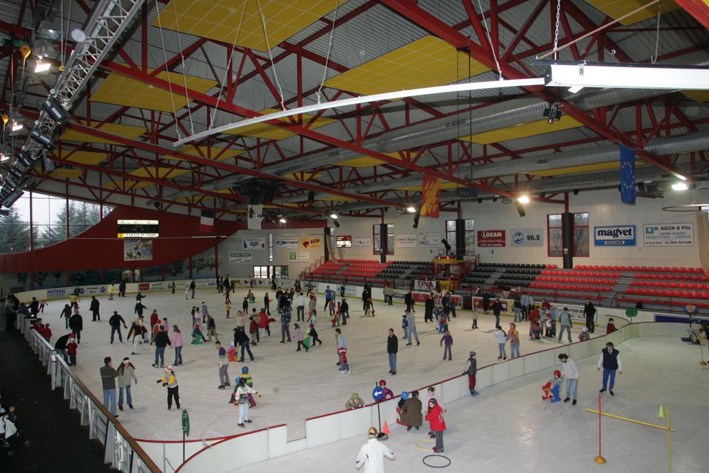 La patinoire de colmar ville de colmar for Piscine patinoire