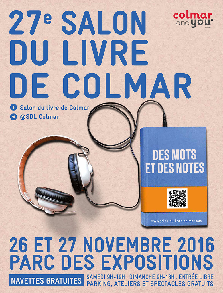 Salon du livre de Colmar 2016