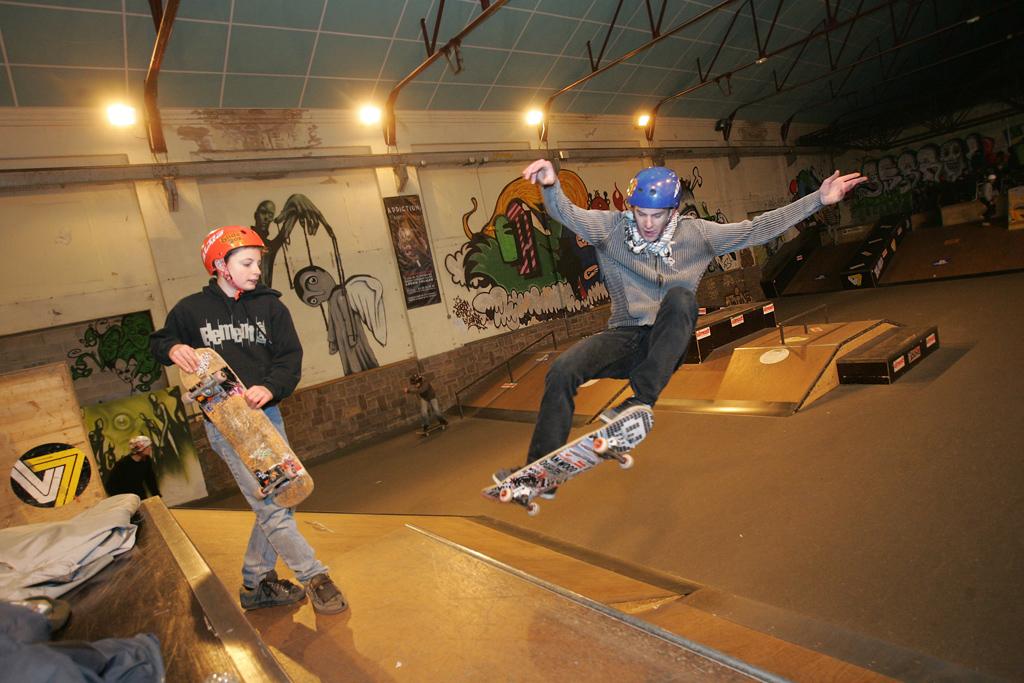 Le skate park de Colmar