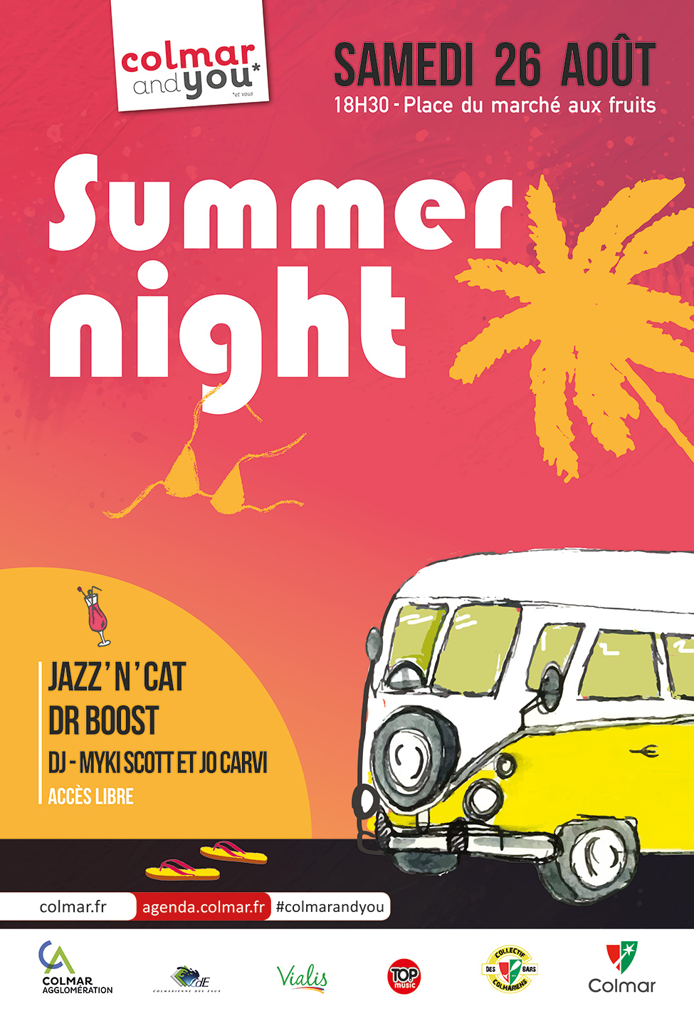 Affiche de la Summer night 2017 de Colmar