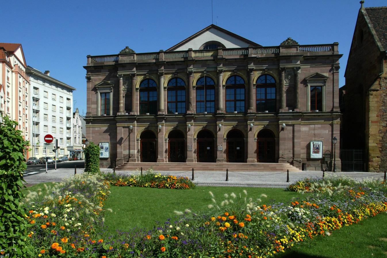 La façade du théâtre municipal de Colmar