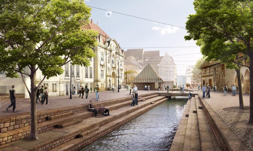 Place Unterlinden ©Herzog & De Meuron