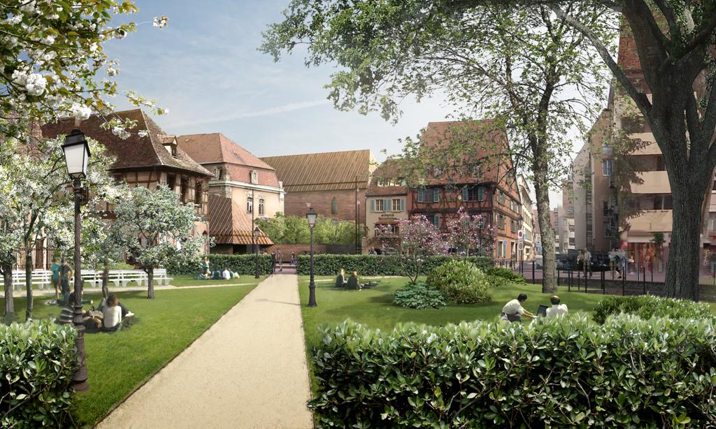 Place de la Sinn ©Herzog & De Meuron