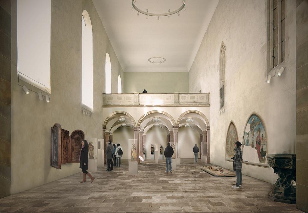 Chapelle, vue Est ©Herzog & De Meuron