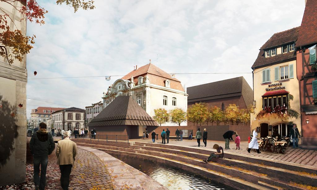 Petite maison sur la place Unterlinden ©Herzog & De Meuron