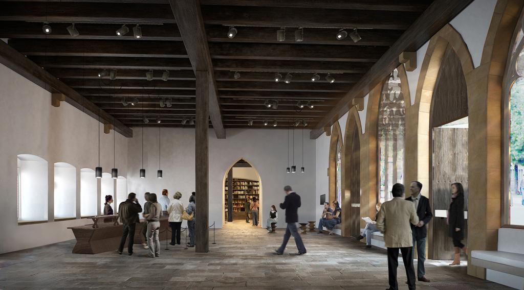 Nouvelle entrée du musée ©Herzog & De Meuron