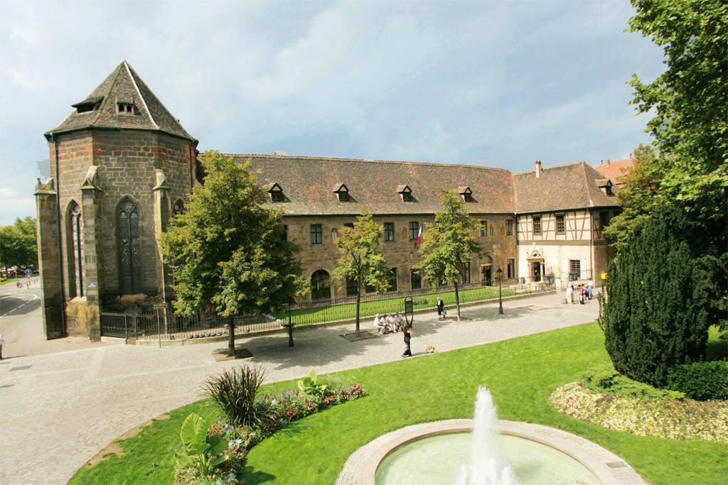 Photo de l'actuel musée Unterlinden