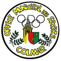 Le logo de l'office municipal des sports de Colmar