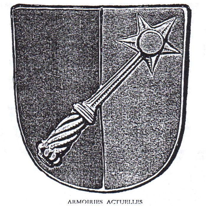 Les armoiries actuelles de la ville de Colmar
