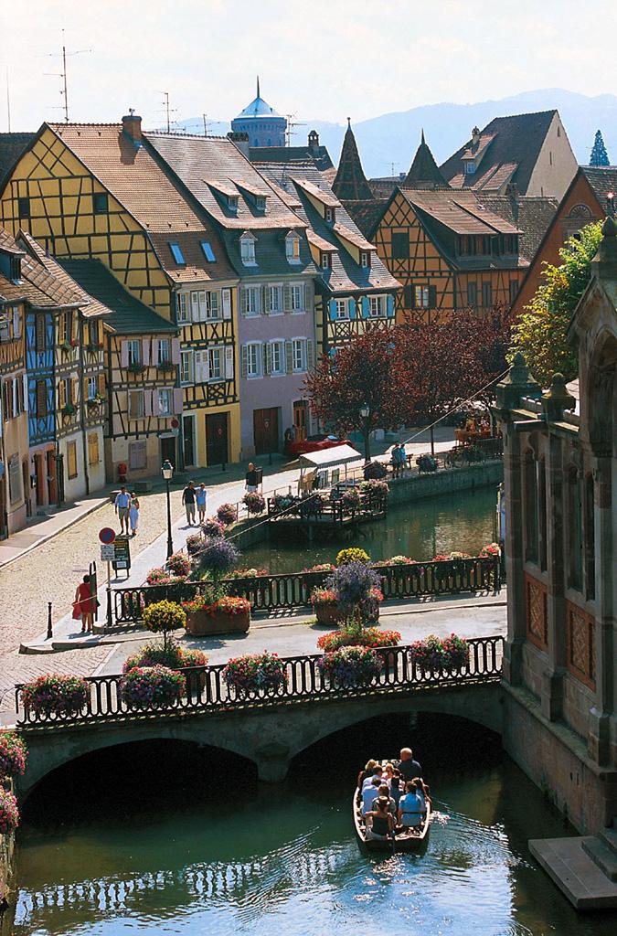Le quai de la Poissonnerie à Colmar