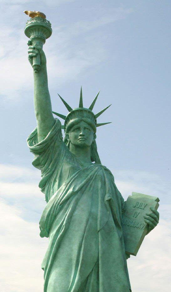 La statue de la Liberté de Colmar