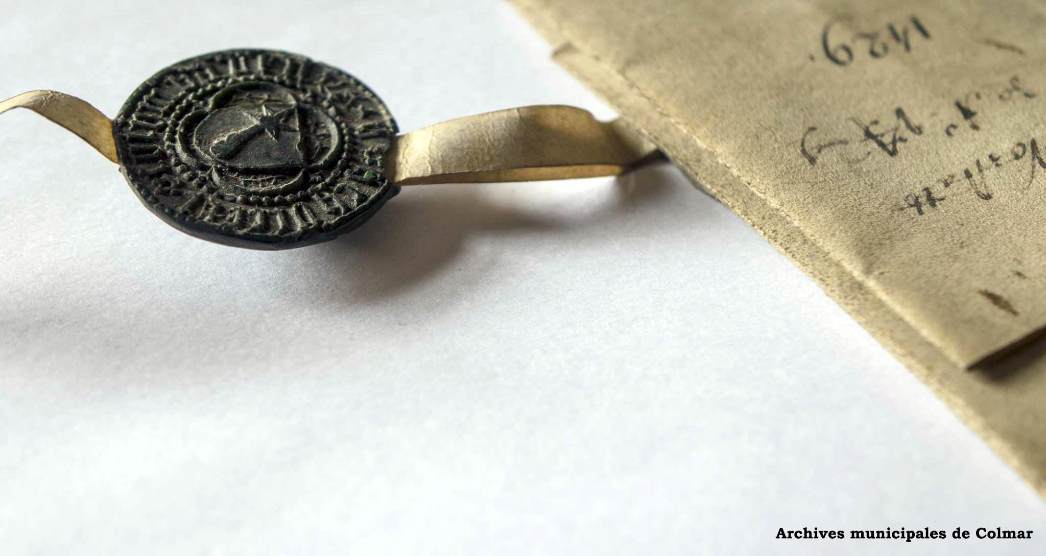 Le sceau du Schultheiss - 1429