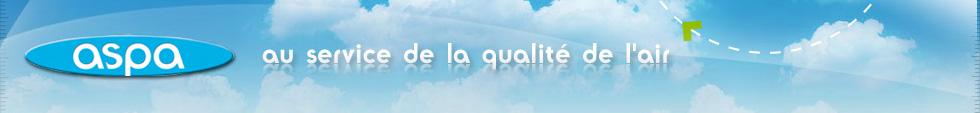 Bandeau de l'ASPA - au service de la qualité de l'air