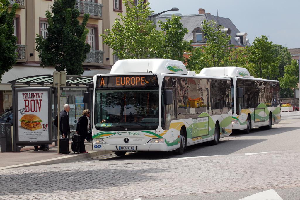 Городской транспорт Кольмара