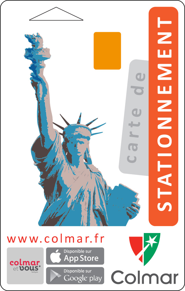 Carte de stationnement : orange