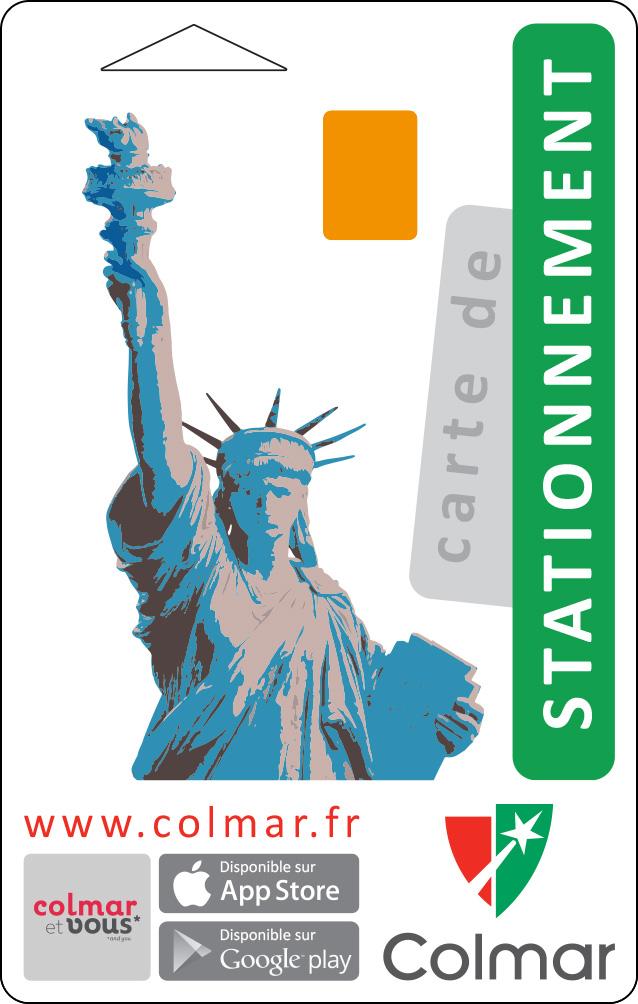 Carte de stationnement : vert
