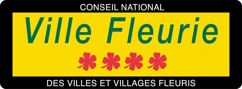 Visuel du panneau Ville Fleurie - 4 fleurs