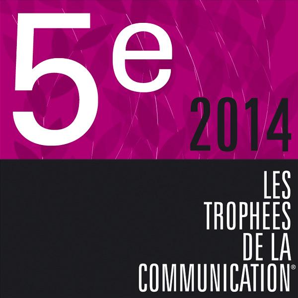 Visuel de la 5e place 2014 des trophées de la communication