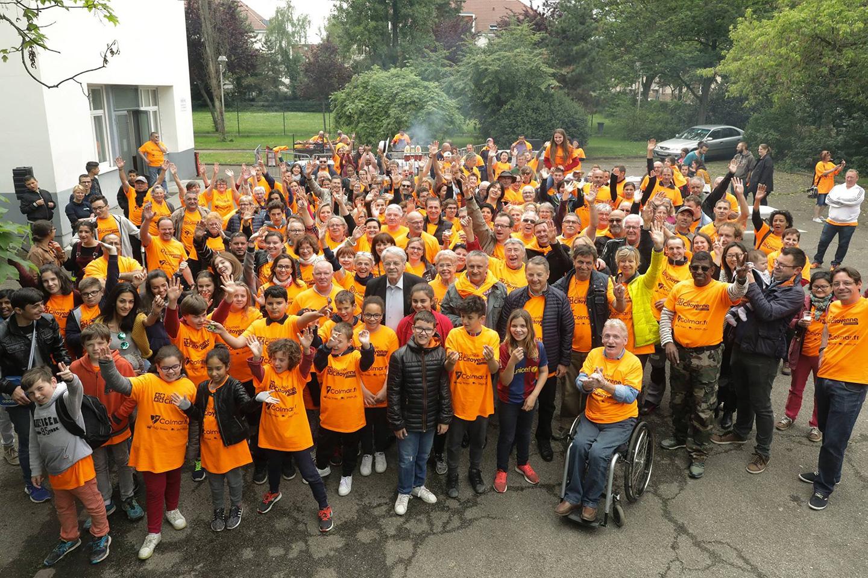 L'équipe de la journée citoyenne à Colmar, le 20 mai 2017