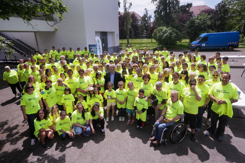 L'équipe de la journée citoyenne à Colmar, le 28 mai 2016