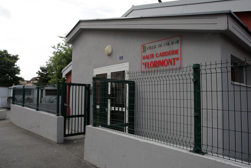 La halte-garderie Florimont - vue extérieure