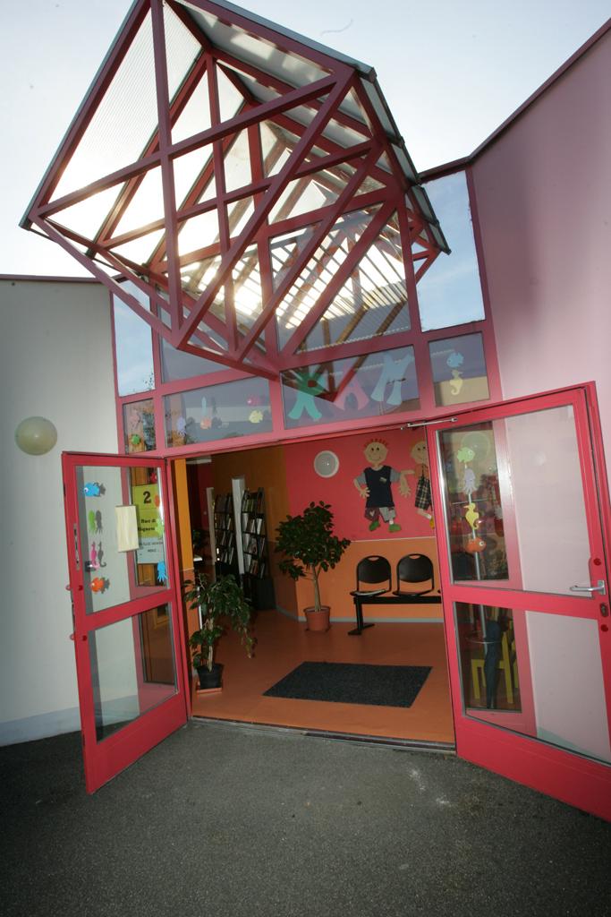 Vue extérieure du relais d'assistantes maternelles à Colmar