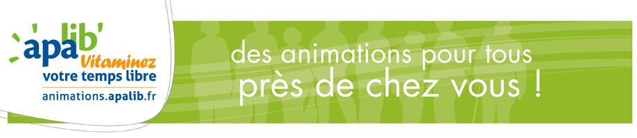 Bandeau des animations à l'apalib'
