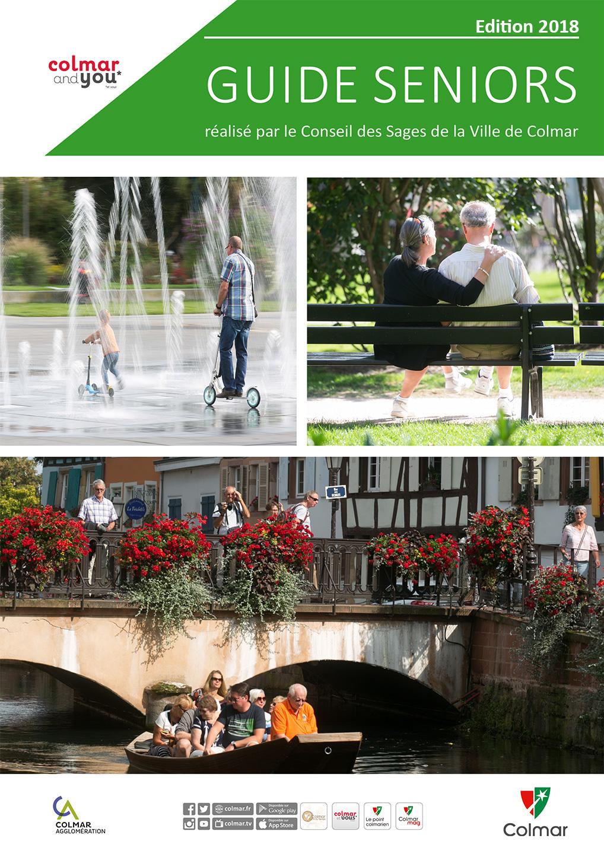 Le guide seniors de la ville de Colmar
