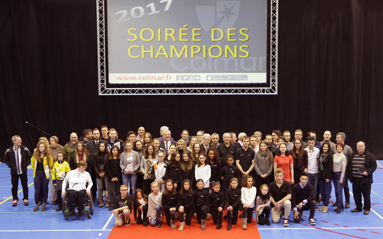 La soirée des champions 2016 - A Colmar le 16 février 2017