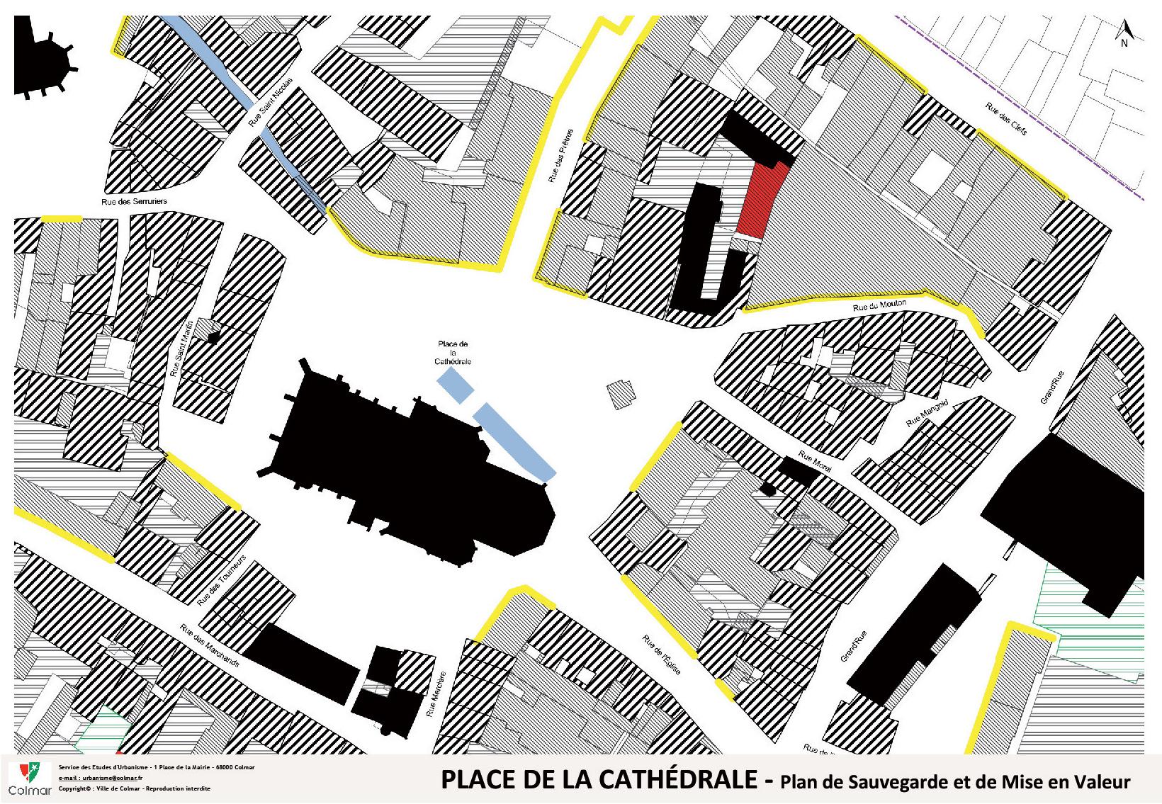 Place de la Cathédrale - Plan de sauvegarde et de mise en valeur